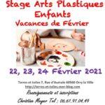 Stage Arts Plastiques enfants vacances de février