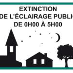Extinction de l'éclairage public : c'est parti !