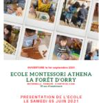 """Présentation de l'école Montessori """"La forêt d'Orry"""""""