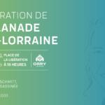 Hommage à Anne- Lorraine - inauguration de l'esplanade