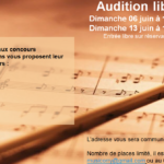 Audition libre Music'Orry