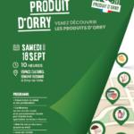 """Lancement du label """"Produits d'Orry"""""""