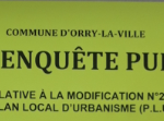 Enquête publique de modification du PLU du 06/09 au 06/10/2021