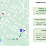 Nouveau plan de circulation Vieux chemin de Coye